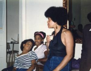 Karma Bambara, Sarah C. Poindexter, Toni Cade Bambara circa 1980s photograph/copyright: Jane Poindexter