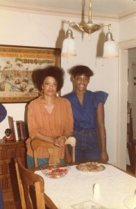 Toni Cade Bambara and her daughter Karma circa 1980s Photograph/copyright: Jane Poindexter