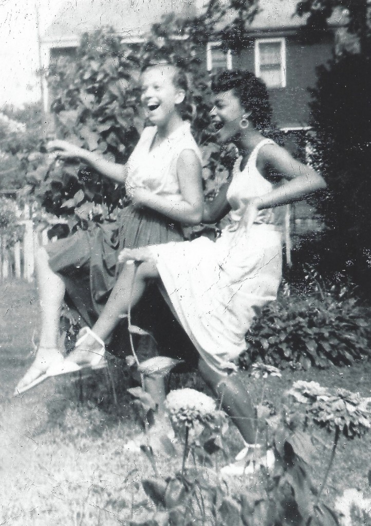 Carole Brown and Toni Cade Bambara circa 1950s courtesy: Carole Brown