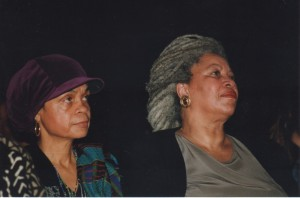 Sonia Sanchez and Toni Morrison, 12-17-95 ©Susan J. Ross