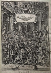 """Vesalius Fabrica fronticepiece,"" as explained by Carolyn Merchant"