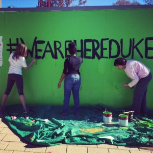Retrieved from Duke University's #WeAreHere Campaign, Hidden Voices