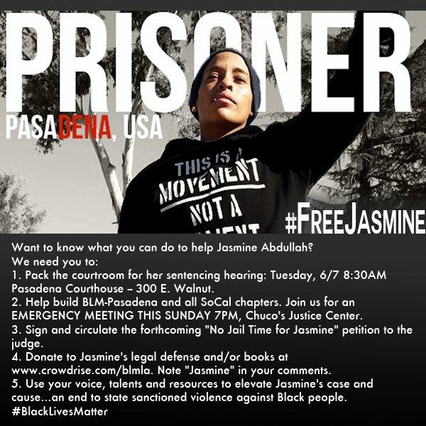 #FreeJasmine