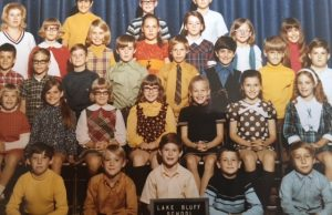 School photo, 3rd grade, Shorewood (1970). I'm 2nd row, 2nd from the left.