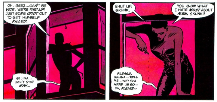 Selina Kyle, Batman: Year One.